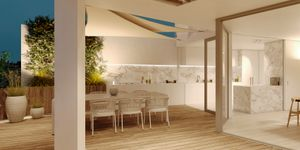 Luxurious penthouse with two terraces in Santa Catalina district, Palma (Thumbnail 2)