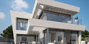 Nově postavená luxusní vila s výhledem na moře na Malorce na prodej (Thumbnail 1)