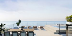 New built luxury penthouse with sea views in Cala Mayor, Palma de Mallorca. (Thumbnail 1)