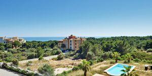 Vallgornera: Villa mit Poolprojekt – Panorama-Landschaftsblick über Mallorcas Südküste (Thumbnail 9)