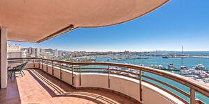 Spacious apartment with harbor views in Palma (Thumbnail 2)