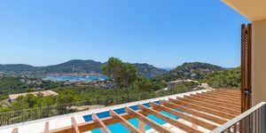 Středomořská nově postavená vila s exkluzivním výhledem na moře v Port Andratx (Thumbnail 1)
