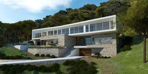 New build villa with pool in Sol de Mallorca (Thumbnail 1)