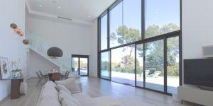 Moderne Villa mit großem Grundstück und Meerblick (Thumbnail 2)