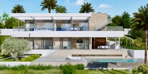 New villa for sale in outstanding location in Nova Santa Ponsa (Thumbnail 3)