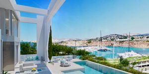 Sensational new villa above Port Adriano for sale (Thumbnail 1)