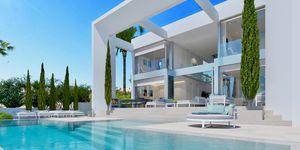 Sensational new villa above Port Adriano for sale (Thumbnail 3)