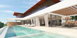 Neubau Projekt nahe zum Strand in Cala Vinyas (Thumbnail 1)
