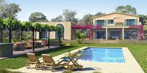 Finca in Santanyi - Neugebautes Anwesen mit Pool und Panoramablick (Thumbnail 1)