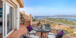 Fantastický penthouse s krásným výhledem na moře v Santa Ponse (Thumbnail 2)