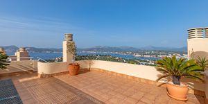 Fantastický penthouse s krásným výhledem na moře v Santa Ponse (Thumbnail 1)