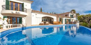 Vila ve středomořském stylu s výhledem na moře v Santa Ponsa, Mallorca (Thumbnail 9)