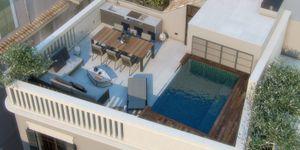 Stadthaus in Palma - Modernes Haus in der Altstadt mit Dachterrasse und Pool (Thumbnail 1)
