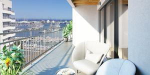 Penthouse in Palma - Neubau Wohnung mit Blick auf den Yachthafen (Thumbnail 5)