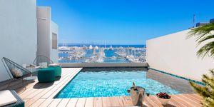 Penthouse in Palma - Neubau Wohnung mit Blick auf den Yachthafen (Thumbnail 1)