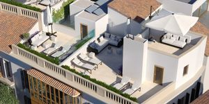 Penthouse with private roof terrace in the old town of Palma de Mallorca (Thumbnail 6)