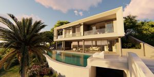 New villa with sea view for sale in Portals Nous (Thumbnail 4)
