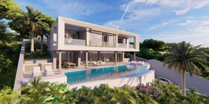 New villa with sea view for sale in Portals Nous (Thumbnail 1)