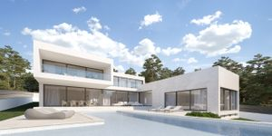 New construction project of a luxury villa with sea views in Cala Blava (Thumbnail 1)