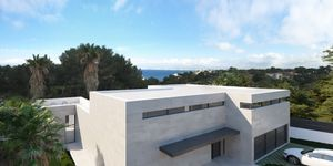 New construction project of a luxury villa with sea views in Cala Blava (Thumbnail 5)