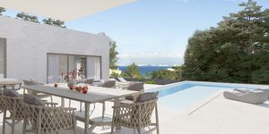 New construction project of a luxury villa with sea views in Cala Blava (Thumbnail 3)