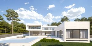 New construction project of a luxury villa with sea views in Cala Blava (Thumbnail 2)
