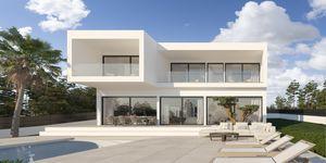 villa in Cala Blava - Projekt einer modernen Villa mit Meerblick (Thumbnail 1)