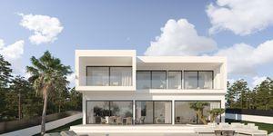 villa in Cala Blava - Projekt einer modernen Villa mit Meerblick (Thumbnail 2)
