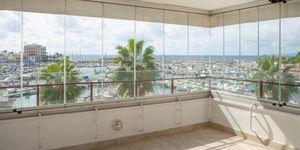 Meerblick-Apartment mit Terrasse in Portixol, Palma (Thumbnail 4)