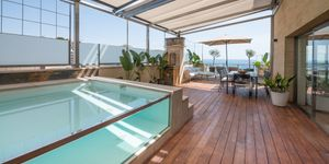 Exklusives Penthouse mit Pool am Strand von Cala Mayor (Thumbnail 3)