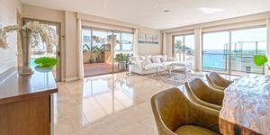 Exklusives Penthouse mit Pool am Strand von Cala Mayor (Thumbnail 5)