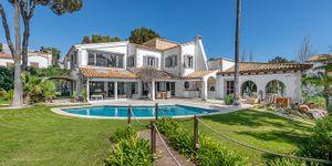 Villa in Santa Ponsa - Anwesen mit zwei mediterranen Luxusvillen mit Meerblick (Thumbnail 1)