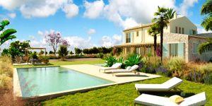 Neugebaute Finca mit Pool in Campos (Thumbnail 1)
