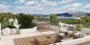 Nově postavená vila s výhledem na moře v Santa Ponse (Thumbnail 1)