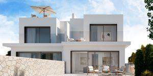 Zwei Neubau Doppelhaushälften mit Teilmeerblick (Thumbnail 1)