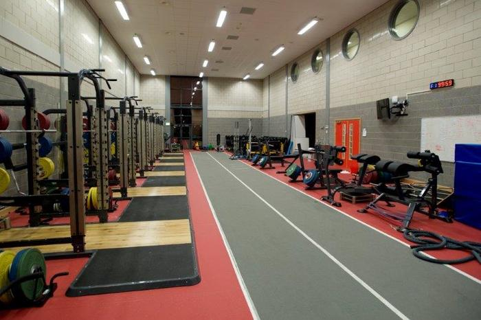 Centre for sporting excellence strength   conditioning room
