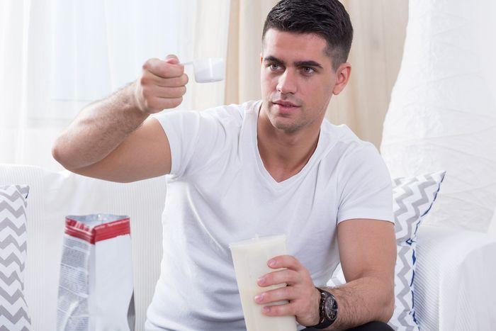 Proteinshake fru%cc%88hstu%cc%88ck