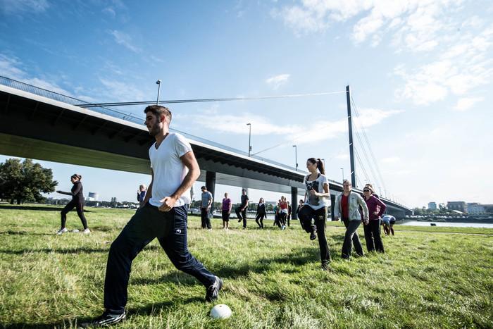 Outdoor sport training bootcamp