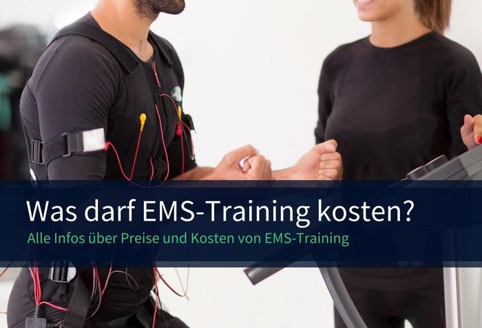 Ems training kosten und preise