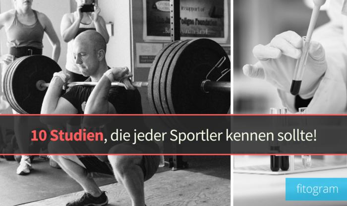 Wichtige studien fu%cc%88r sportler