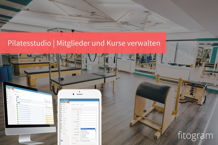 Pilates studio   software