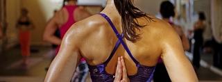 hot yoga frau