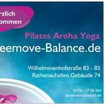 Spreemove-Balance in Schöneweide Pilates Aroha Yogas  logo