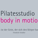 Pilatesstudio body in motion logo
