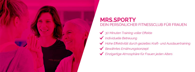 Mrs.Sporty Regensburg cover