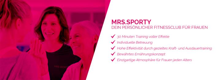 Mrs sporty fitogram