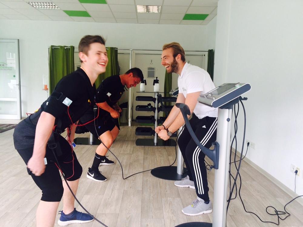 Josh training in wiesbaden