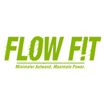 Flow fit logo claim lime rgb