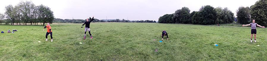 Feelactive gute laune outdoor workout bochum hattingen