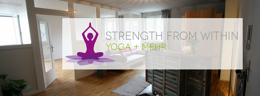 STRENGTH FROM WITHIN – YOGA + MEHR cover